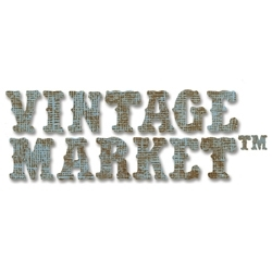 Tim Holtz Sizzix Die VINTAGE MARKET ALPHABET Strip Alterations 656623 Preview Image