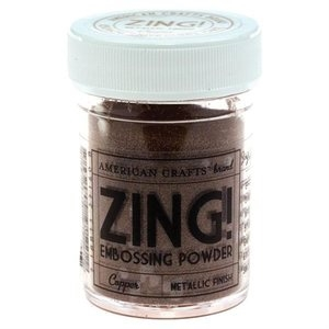 American Crafts Zing! METALLIC COPPER Embossing Powder