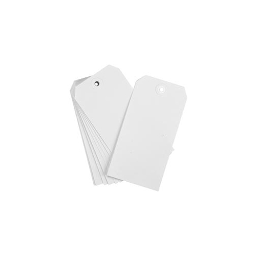 American Tag #8 WHITE TAGS Pack of 15 21318 zoom image
