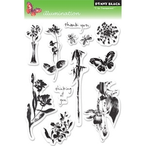 Penny Black Clear Stamps ILLUMINATIONS 30-048