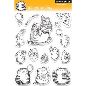 Penny Black Clear Stamps IT'S YOUR DAY 30-046
