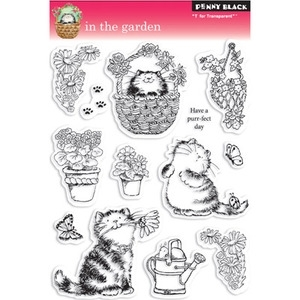 Penny Black Clear Stamps IN THE GARDEN 30-044