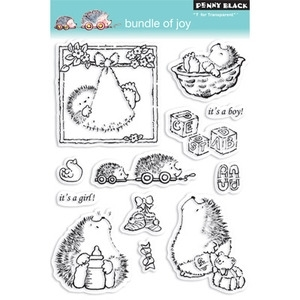 Penny Black Clear Stamps BUNDLE OF JOY 30-043