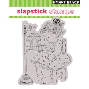 Penny Black Cling Stamp TWEET TALK Rubber Unmounted 40-022