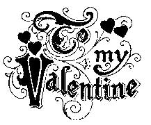 Tim Holtz Rubber Stamp VALENTINE Stampers Anonymous k1-1531