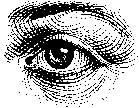 Tim Holtz Rubber Stamp EYE Stampers Anonymous H1-1535