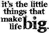 Tim Holtz Rubber Stamp LITTLE THINGS Stampers Anonymous J1-1545 Preview Image