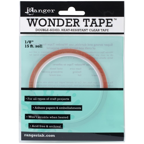 Ranger Inkssentials WONDER TAPE 1/8 Inch Double Sided 15 ft. IWT27379 Preview Image