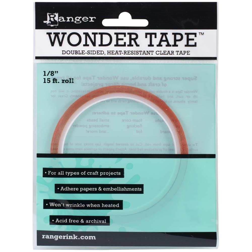 Ranger Inkssentials WONDER TAPE 1/8 Inch Double Sided 15 ft. IWT27379 zoom image