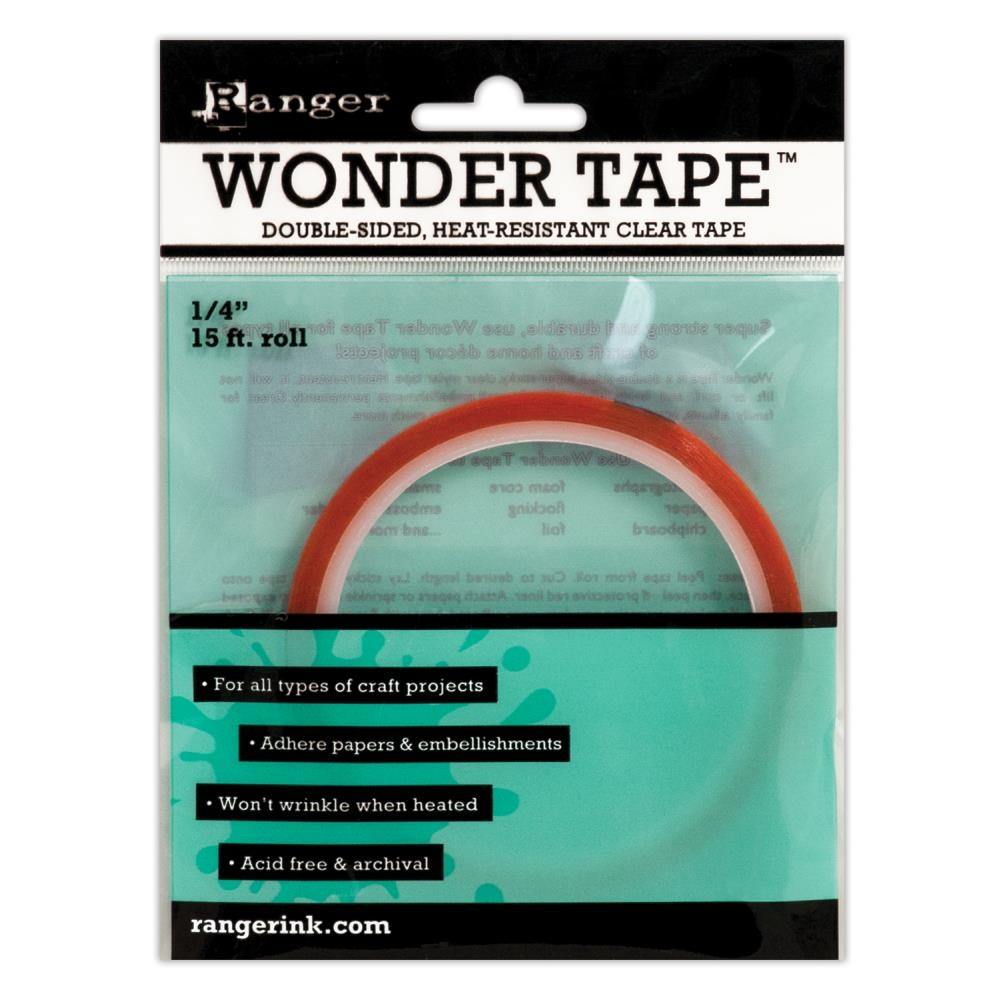 Ranger WONDER TAPE 0.25 Inch Double Sided 15 ft. IWT27386 zoom image