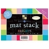 DCWV Cardstock Stack 4.5 x 6.5 BRIGHTS Paper Textured MS-006-00002