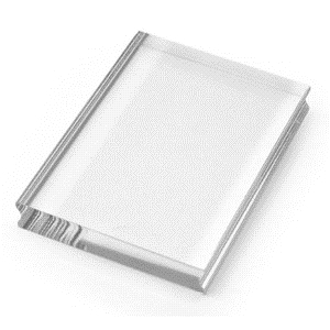 Stampendous Clear Block Medium 3 x 4 Acrylic Rubber Stamp Handle ssh34 Preview Image