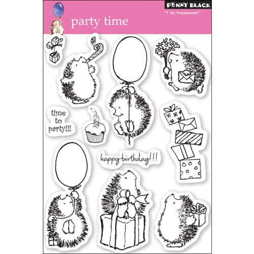 Penny Black Clear Stamps PARTY TIME 30-049 Preview Image