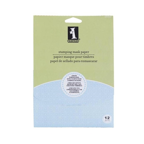 Inkadinkado STAMPING MASK PAPER Dimensional Crafting 62-01022 Preview Image
