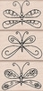 Hero Arts Rubber Stamps DESIGNER BUTTERFLIES lp175