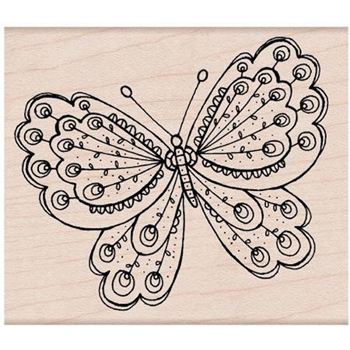 Hero Arts Rubber Stamp ARTISTS BUTTERFLY H5426