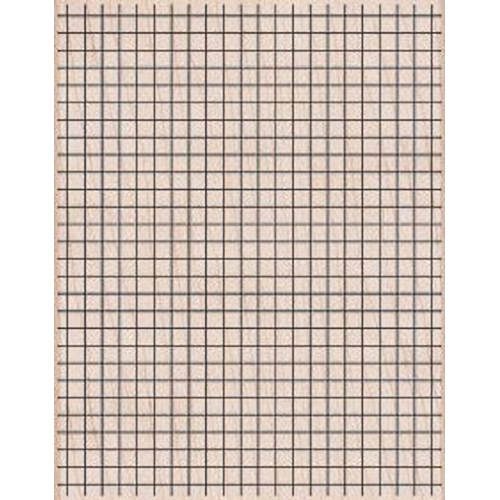 Hero Arts Rubber Stamp Designblock GRAPH BACKGROUND s5435 Preview Image