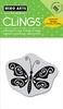 Hero Arts Cling Stamp BUTTERFLY Rubber CG200 zoom image