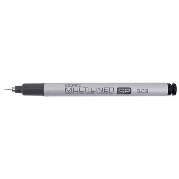Copic Multiliner SP 0.03 BLACK Ink Marker zoom image