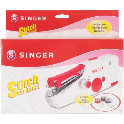 Singer STITCH SEW QUICK Hand Held Sewing Machine 01663 Preview Image