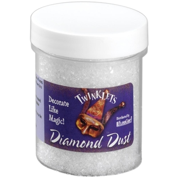 Twinklets DIAMOND DUST Fine Art Glitter 3 Ounce Jar