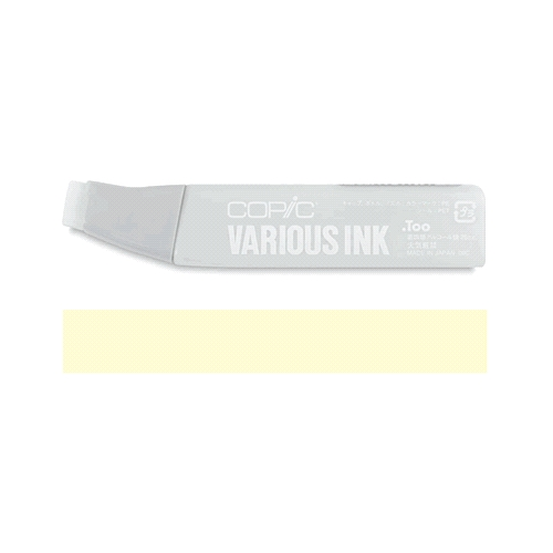 Copic Marker REFILL Y11 PALE YELLOW Original Sketch And Ciao Preview Image