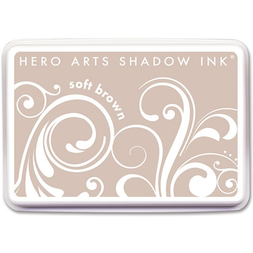 Hero Arts Soft Brown Ink Pad