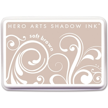 Hero Arts SHADOW INK Pad SOFT BROWN AF170