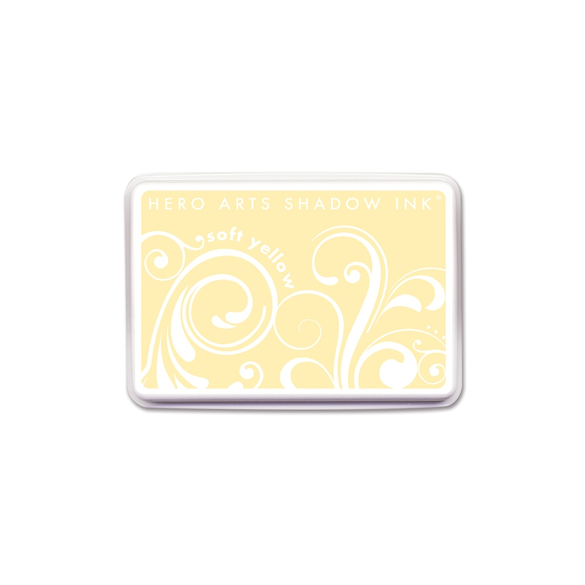 Hero Arts SHADOW INK Pad SOFT YELLOW AF169 zoom image