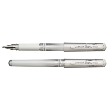 Uni-Ball Pen Signo Gel WHITE UM-153