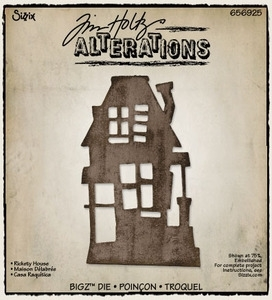 Tim Holtz Sizzix Die RICKETY HOUSE Bigz 656925 Preview Image