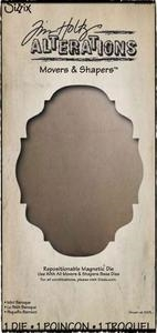 Tim Holtz Sizzix Die MINI BAROQUE Movers & Shapers Alterations 656932 Preview Image