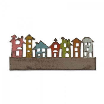 Tim Holtz Sizzix Die TOWNSCAPE On The Edge Alterations 656919