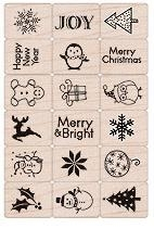 Hero Arts Rubber Stamps MERRY CHRISTMAS ll795 Ink n Stamp