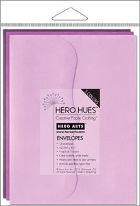 Hero Arts MIXED ENVELOPES FLORAL ps613
