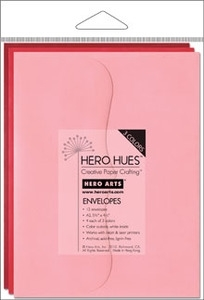 Hero Arts MIXED ENVELOPES BLUSH ps614