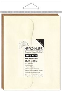 Hero Arts MIXED ENVELOPES EARTH Brown Neutrals ps618