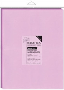 Hero Arts Mixed Layering Papers FLORAL PS619