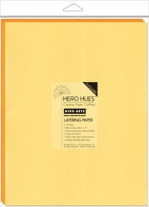 Hero Arts Sunshine Mixed Layering Papers