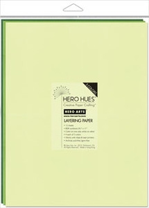 Hero Arts Mixed Layering Papers FOLIAGE ps622 * Preview Image