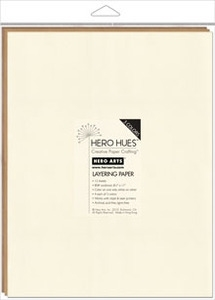 Hero Arts Mixed Layering Papers EARTH ps624