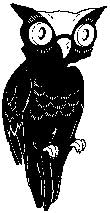 Tim Holtz Rubber Stamp VINTAGE OWL K5-1614 Stampers Anonymous Preview Image
