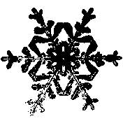 Tim Holtz Rubber Stamp SNOWFLAKE 3 Three H2-1586 Stampers Anonymous zoom image