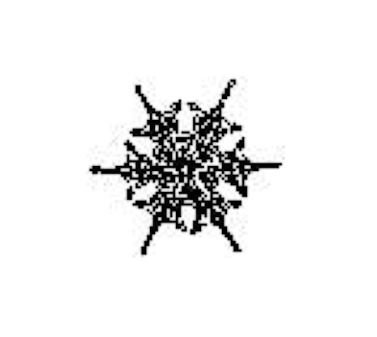 Tim Holtz Rubber Stamp SNOWFLAKE 6 Six C1-1568 Stampers Anonymous zoom image