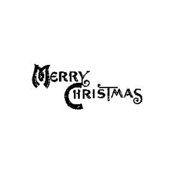 Tim Holtz Rubber Stamp MINI CHRISTMAS Merry J5-1571 Stampers Anonymous