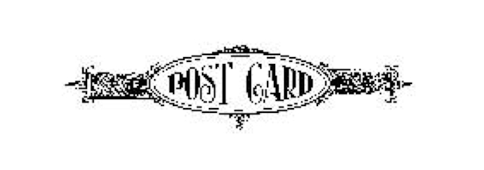 Tim Holtz Rubber Stamp POSTAGE 1 One Post Card Stampers Anonymous E3-1592 zoom image