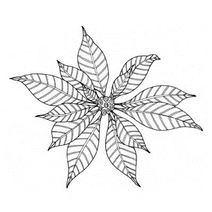 Penny Black Rubber Stamp CHRISTMAS STAR 4104K  Preview Image