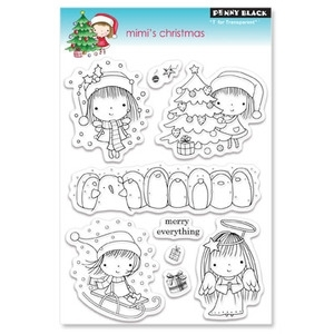 Penny Black Clear Stamps MIMI'S CHRISTMAS 30-061 zoom image