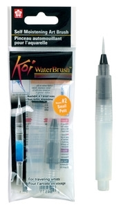 Sakura KOI SMALL WATERBRUSH Water Brush Watercolor #2 XQR-S