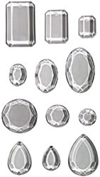 Tim Holtz Idea-ology 12 FACETS Dangles 12 Jump Rings th92871* Preview Image